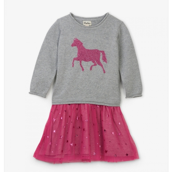 Hatley Other - Hayley Sparkle Drop Waste Tulle Dress